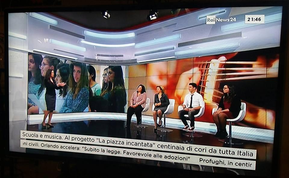 Diretta su RAInews24 il 29 ottobre 2015